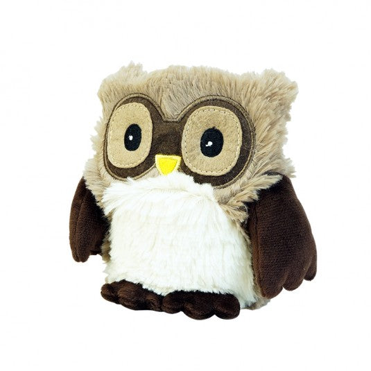 HOOT JR - Warmies® Cozy Plush Junior Brown Owl