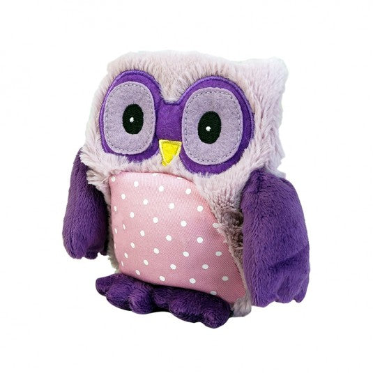 PEEP JR - Warmies® Cozy Plush Junior Purple Owl
