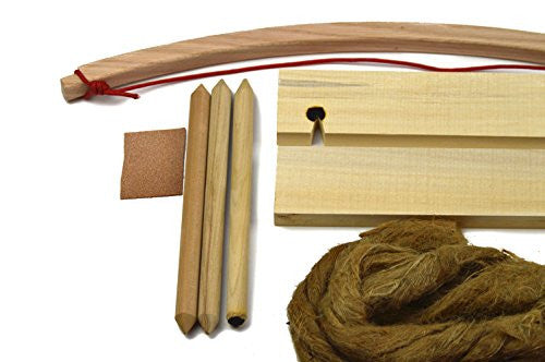 Primitive Fire Deluxe Bow Drill Kit