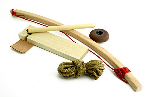 Primitive Fire Starter Bow Drill Kit
