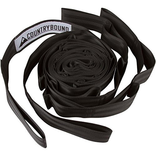Hammock Tree Straps - 13 Adjustable Loops, Heavy Duty Nylon - Tree Straps For Hammock - Premium Tree Slings - Includes FREE Drawstring Storage Bag