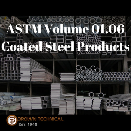 ASTM Volume 01.06 Coated Steel Products