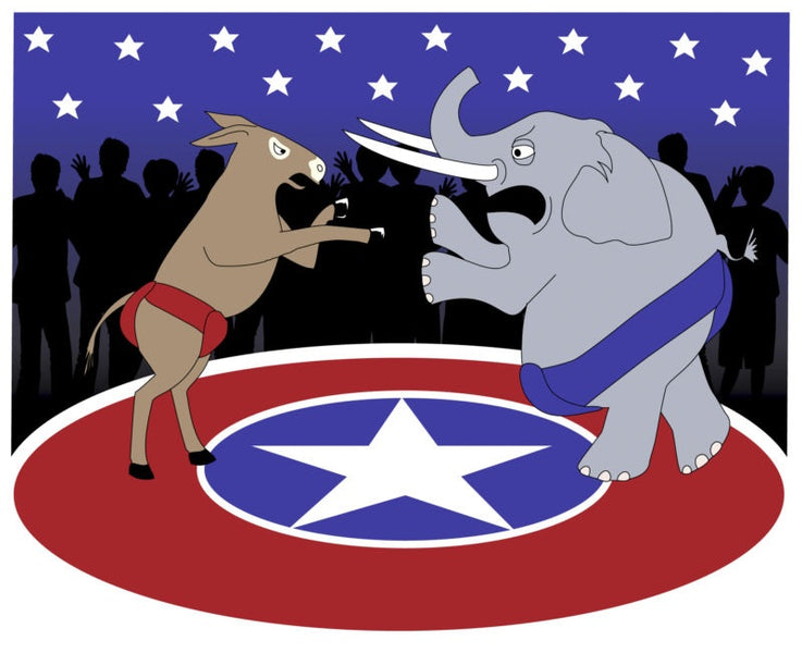 The TRUE History of the Two Major Political Parties