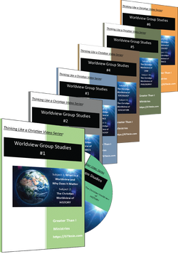 TLAC Video Worldview Group Studies - Complete set of 6 books (12 Subjects)