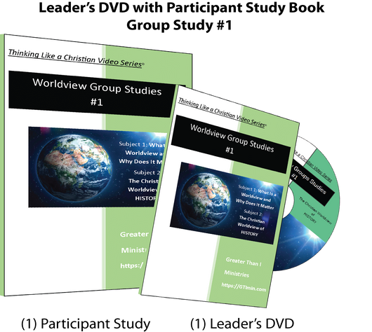 TLAC Worldview Group Study #1- Leader Guide DVD with Participant Study Guide