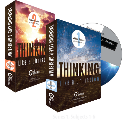 Thinking Like a Christian Video Series - Complete Series #1 and #2