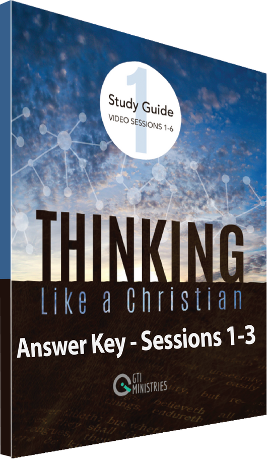 Study Guide Workbook Answer Key, Series 1, Sessions 1-3