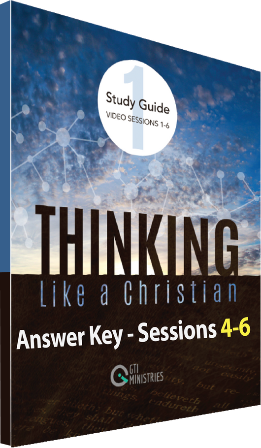 Study Guide Workbook Answer Key, Series 1, Sessions 4-6
