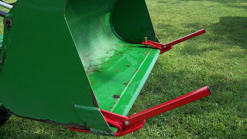 Edge Extender Lift Material Wider Than Your Tractor