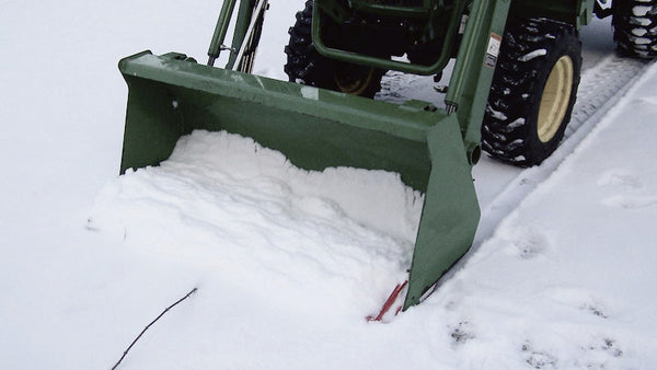 Edge Tamer Move Snow With Your Tractor Loader Bucket