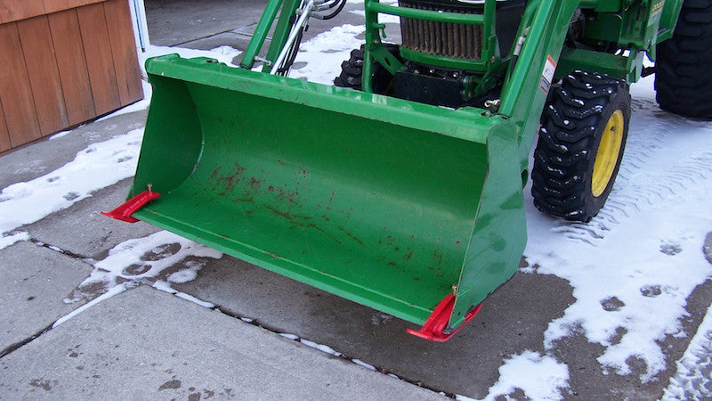 Edge Tamer Move Snow With Your Tractor Loader Bucket R2