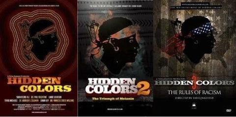 HIDDEN COLORS - PARTS 1, 2 AND 3 - BLACK HISTORY DOCUMENTARY SET