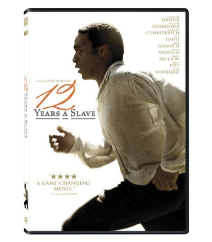 12 YEARS A SLAVE - BLACK HISTORY DVD - 2013