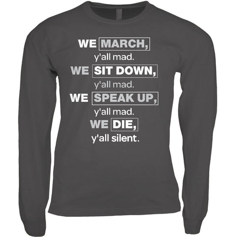 We March T-shirt
