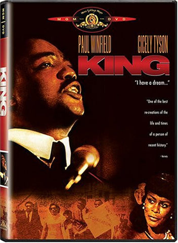 KING (MINISERIES) - BLACK HISTORY DVD - 1978