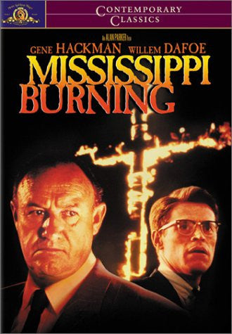 MISSISSIPPI BURNING - BLACK HISTORY DVD - 1988