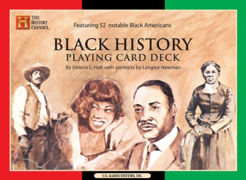 BLACK HISTORY PLAYING CARD DECK - BLACK HISTORY GIFTS