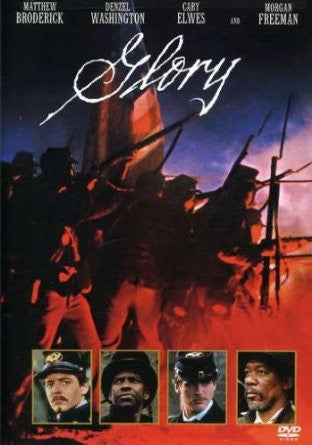 GLORY - BLACK HISTORY DVD - 1989 - DENZEL WASHINGTON