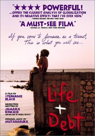 LIFE AND DEBT - BLACK HISTORY DVD - 2001