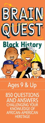BRAIN QUEST BLACK HISTORY - BLACK HISTORY GAME