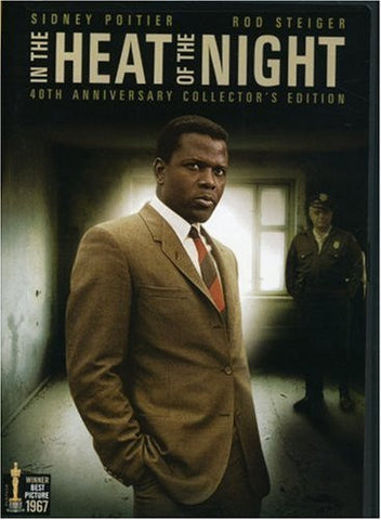IN THE HEAT OF THE NIGHT - BLACK HISTORY DVD - 1967