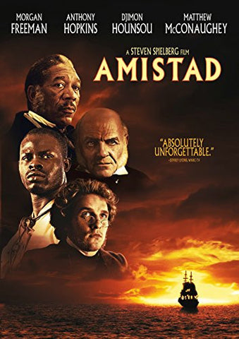 AMISTAD - BLACK HISTORY FILM - DVD - 1997
