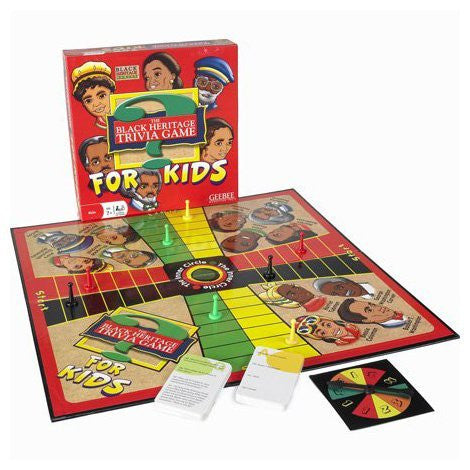 BLACK HERITAGE TRIVIA GAME FOR KIDS - BLACK HISTORY GAME