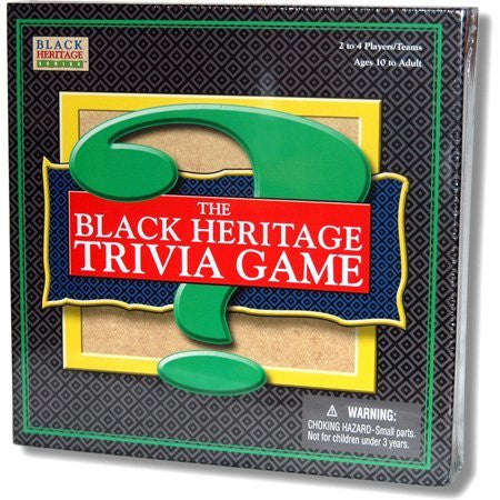 THE BLACK HERITAGE TRIVIA GAME - BLACK HISTORY GAME