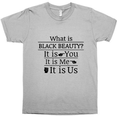 WHAT IS BLACK BEAUTY? IT IS YOU, IT IS ME, IT IS US - BLACK EMPOWERMENT T-SHIRT
