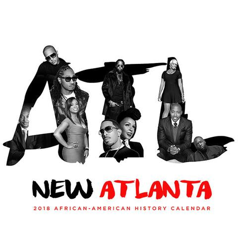 2018 Atlanta: Black History Makers Calendar