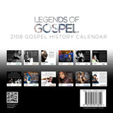 2018 Legends of Gospel Calendar
