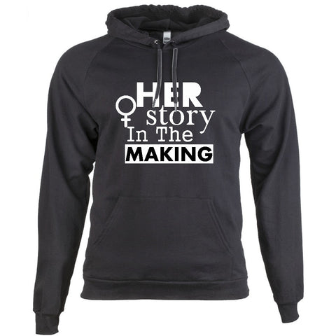 HER STORY IN THE MAKING - BLACK HISTORY HOODIE