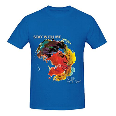 BILLIE HOLIDAY TEE - STAY WITH ME - BLACK HISTORY T-SHIRT