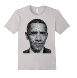 Obama Collage Portrait T-Shirt
