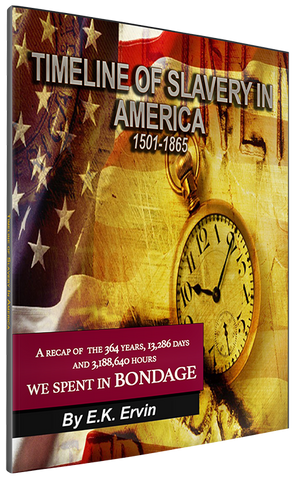 TIMELINE OF SLAVERY IN AMERICA 1501-1865 (Ebook)