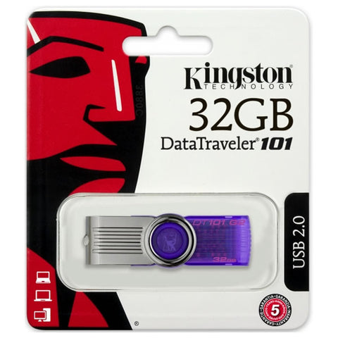 Memoria USB 2.0 Kingston DT 101 G2 32GB