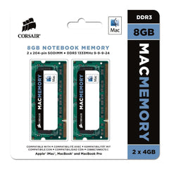 Memoria Ram Corsair Apple 8GB (2 x 4GB) DDR3 (Para Laptop)