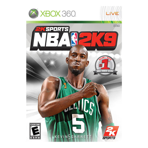 NBA 2K9 Basketball Xbox 360