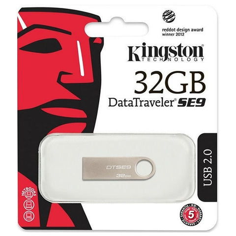 Memoria USB 2.0 kingston DT SE9 32GB