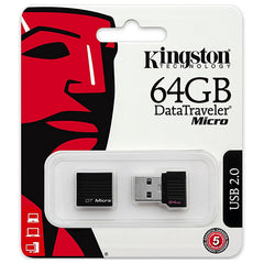 Memoria Micro USB 2.0 Kingston 64GB