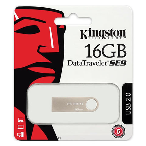 Memoria USB 2.0 Kingston DT SE9 16GB