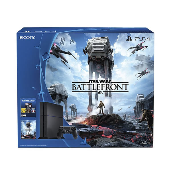 Playstation 4, 500GB, Star Wars Battlefront