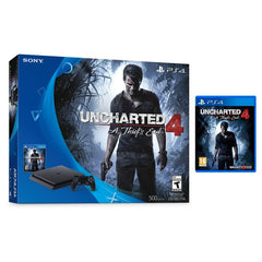 Playstation 4, 500GB, Slim Uncharted 4