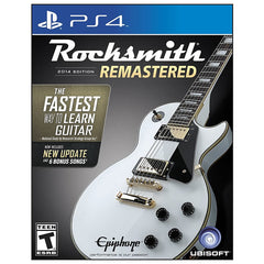 Rocksmith 2014 Edition Remastered Playstation 4 (Cable Incluido)