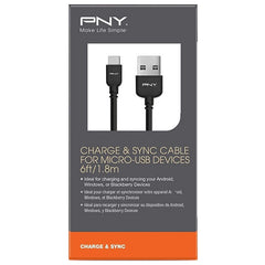 Cable de Datos Micro USB PNY
