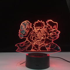 Naruto Team 3d Night Light 7 Uzumaki Naruto Sasuke Sakura Figure Home Decoration LED Night Lamp Anime Gift for Kids Child Boys