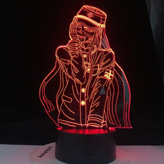 Korekiyo Shinguji Figure Game lamp Danganronpa V3 3D Nightlight Friends Surprise Birthday Gifts 16 Colors Lamp Dropshipping