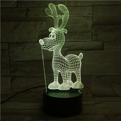 DEER 1- 3D Optical Illusion LED Lamp Hologram