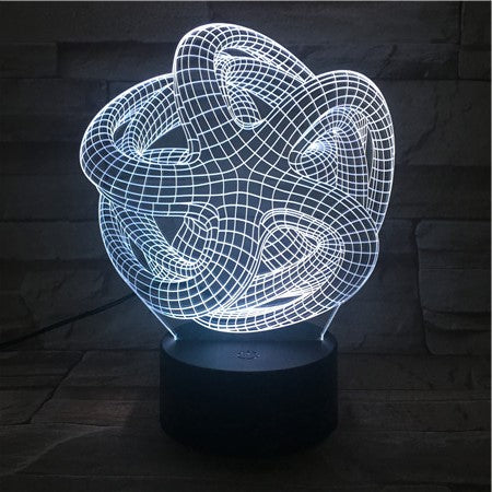 Lamp® Official Optical 3d An Lamp The – Illusion oerBdxC