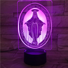 Maria - 3D Optical Illusion LED Lamp Hologram